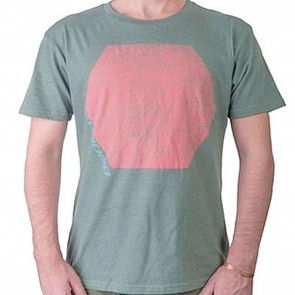 Loaded Hexagon Mens T-Shirt - Green