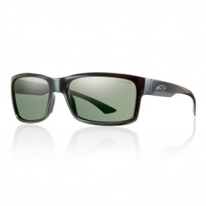 Smith DOLEN Black / ChromaPop Polarized Gray Green Sunglasses