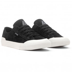 HUF Classic Lo Black / Bone Skateboard Shoes