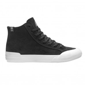 HUF Classic Hi Skateboard Shoes Black / Bone
