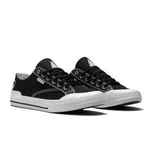 HUF Classic Lo Black Spitfire Skateboard Shoes