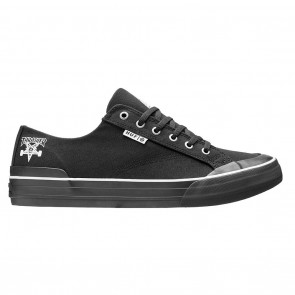 HUF X Thrasher Classic Lo Black Canvas Skateboard Shoes