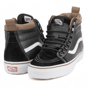 Vans SK8-HI MTE Black / True White Skateboard Shoes