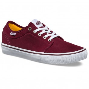 Vans CHUKKA LOW PRO Port / White Skateboard Shoes