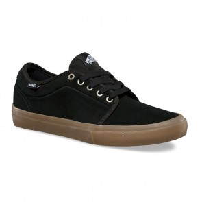 Vans CHUKKA LOW PRO Black / Gum Skateboard Shoes