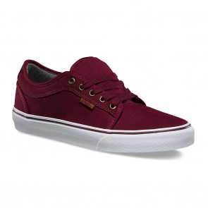 Vans CHUKKA LOW 10 OZ Canvas Port / White Skateboard Shoes