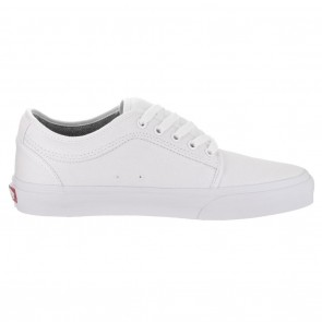 Vans CHUKKA LOW PRO White White Skateboard Shoes