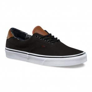 Vans ERA 59 (C&L) Black / Material Mix Skateboard Shoes