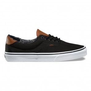 Vans ERA 59 (C&L) Skateboard Shoes - Black / Material Mix