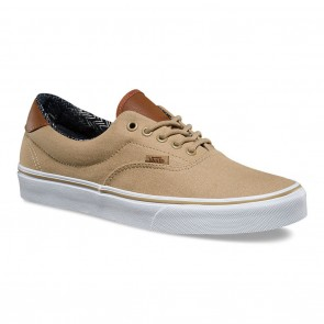 Vans ERA 59 (C&L) Khaki / Material Mix Skateboard Shoes