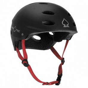 Pro-Tec Ace 2-Stage Black w/Red Strap Skate Helmet (2010)