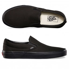 Vans CLASSIC SLIP-ONS Black / Black Shoes
