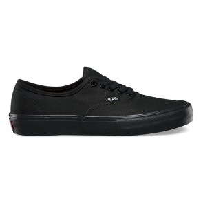 Vans Authentic Pro Skate Shoes - Black / Black