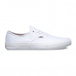 Vans Authentic Pro Skate Shoes - True White / True White