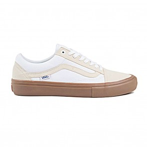 Vans OLD SKOOL PRO Turtledove / Gum Skateboard Shoes