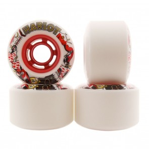 Venom Harlot Cobra Core 71mm 78a Longboard Wheels Red Hub