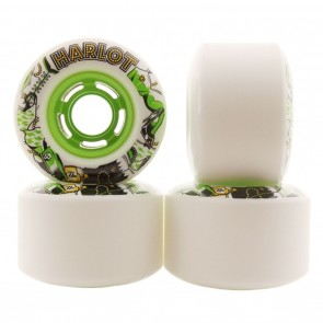 Venom Harlot Cobra Core 71mm 80a Longboard Wheels Green Hub