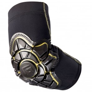 G-Form Pro Elbow Youth Pads - Black / Yellow