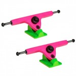 Caliber Longboard Trucks - 10in / 44 degree Acid Melon - Set of Two