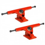 Caliber Longboard Trucks - 10in / 44 degree Red Rum - Set of Two