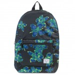 Herschel Packable Daypack Backpack Neon Floral