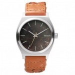 Nixon TIME TELLER Dark Copper with Saddle Woven Watch