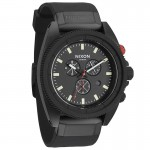 Nixon ROVER Chrono All Black with Red Watch