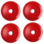 BDS Black Diamond Reds Red Core 70mm 80a Skateboard Wheels
