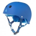 Triple 8 Brainsaver Rubber Skate Helmet - Royal Blue