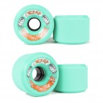 Cloud Ride Mini Slide Longboard Wheels - 66mm 80a Green