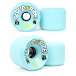 Cloud Ride Slide Longboard Wheels - 70mm 77a Blue