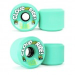 Cloud Ride Slide Longboard Wheels - 70mm 80a Green