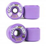Cloud Ride Slide Longboard Wheels - 70mm 86a Purple