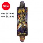 Rayne K. Rimes Mini Kill Switch Longboard Deck - Purple