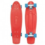 "Penny Nickel 27"" Red Blue Complete Skateboard"
