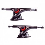 Paris 180mm V2 43 Degree Black / Black Longboard Trucks