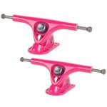 Paris 180mm V2 50 Degree Pink / Pink Longboard Trucks