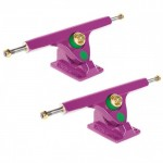 Caliber Longboard Trucks - 10in / 44 degree (Purple Funk) - Set of Two