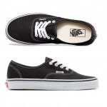 Vans AUTHENTIC Black Skate Shoes