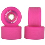 Metro Motion 70mm Longboard Wheels - Durometer 78a Pink
