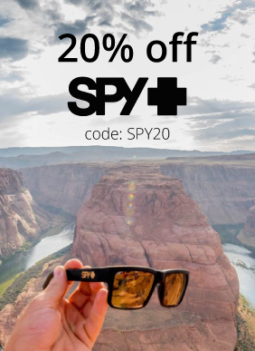Save 20% on Spy Sunglasses