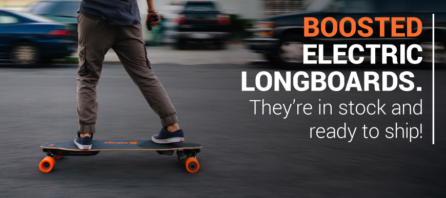 Boosted Electric Boards